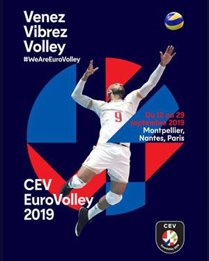 EUROVOLLEY 2019 SUD DE FRANCE ARENA rencontre, compétition de volley