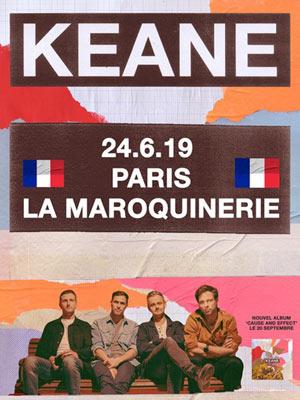 Plus d'infos sur l'évènement KEANE
