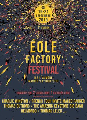 EOLE FACTORY FESTIVAL 2019 PARC DES EXPOSITIONS L'ILE AUMONE concert de jazz