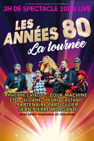 LES ANNEES 80 A DREUX PARC EXPOSITIONS - DREUX concert de chanson française