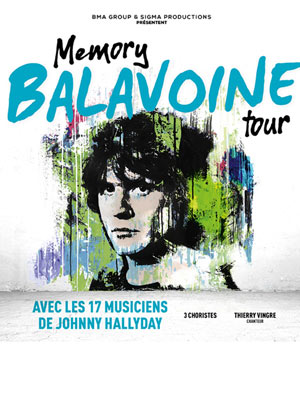 MEMORY BALAVOINE TOUR CENTRE ATHANOR concert de chanson française