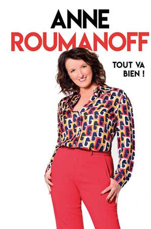 Plus d'infos sur l'évènement ANNE ROUMANOFF