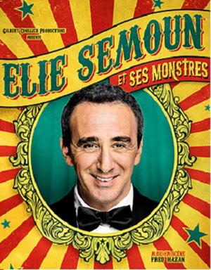 ELIE SEMOUN ET SES MONSTRES Palais des Rencontres one man/woman show