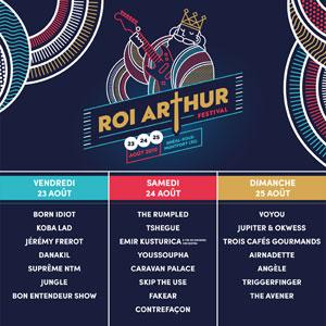 FESTIVAL LE ROI ARTHUR - PASS JOUR