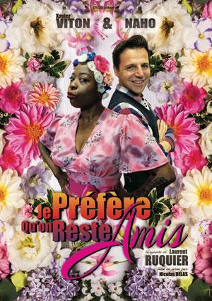 JE PREFERE QU ON RESTE AMIS THEATRE MOLIERE comédie, pièce de théâtre d'humour