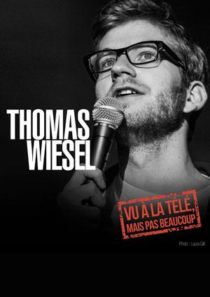 THOMAS WIESEL ESPACE GERSON one man/woman show