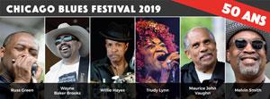 Plus d'infos sur l'évènement CHICAGO BLUES FESTIVAL