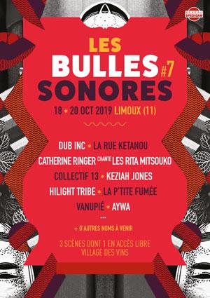 LES BULLES SONORES 2019 SITE DE TREMESAYGUES concert de rock