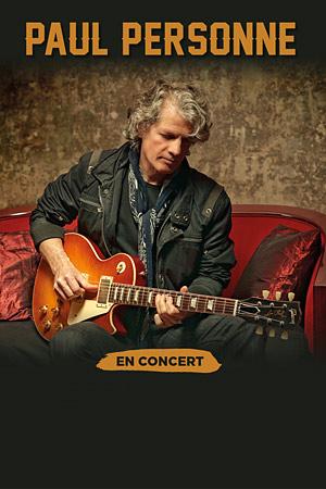 PAUL PERSONNE Centre Culturel Valery Larbaud concert de rock