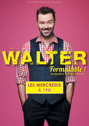 WALTER THEATRE POINT-VIRGULE one man/woman show