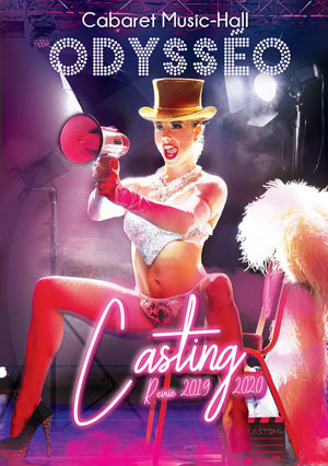 REVUE CASTING / CABARET ODYSSEO ODYSSEO revue, cabaret