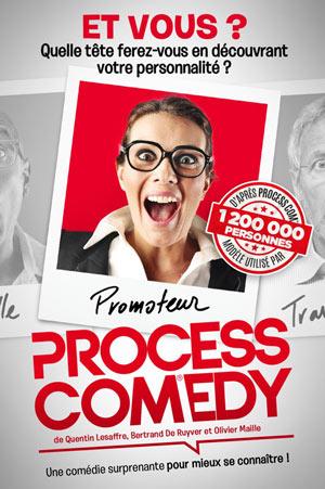 PROCESS COMEDY THEATRE COMEDIE DE LILLE comédie, pièce de théâtre d'humour