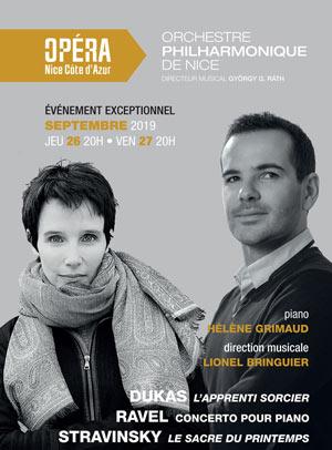 CONCERT PHILHARMONIQUE Opera De Nice concert de musique classique