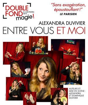 ENTRE VOUS ET MOI Le Double Fond revue, cabaret