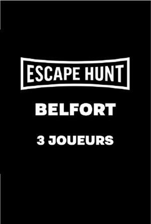 ESCAPE GAME BELFORT - 3 PERSONNES ESCAPE HUNT EXPERIENCE BELFORT activité, loisir