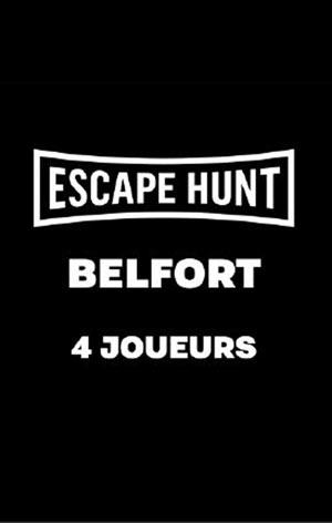 ESCAPE GAME BELFORT - 4 PERSONNES ESCAPE HUNT EXPERIENCE BELFORT activité, loisir