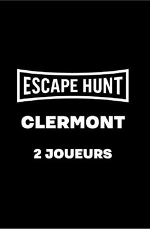 ESCAPE GAME CLERMONT FD-2 PERSONNES ESCAPE HUNT EXPERIENCE CLERMONT-FD activité, loisir