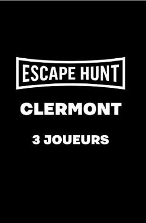 ESCAPE GAME CLERMONT FD-3 PERSONNES ESCAPE HUNT EXPERIENCE CLERMONT-FD activité, loisir