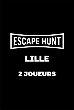 ESCAPE GAME LILLE - 2 PERSONNES ESCAPE HUNT EXPERIENCE LILLE activité, loisir