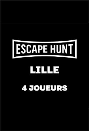 ESCAPE GAME LILLE - 4 PERSONNES ESCAPE HUNT EXPERIENCE LILLE activité, loisir