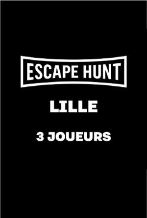 ESCAPE GAME LILLE - 3 PERSONNES ESCAPE HUNT EXPERIENCE LILLE activité, loisir