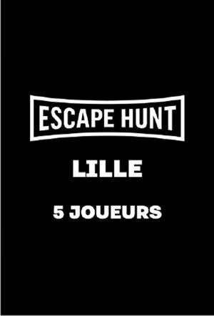 ESCAPE GAME LILLE - 5 PERSONNES ESCAPE HUNT EXPERIENCE LILLE activité, loisir
