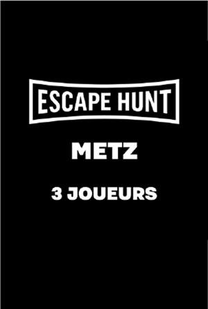 ESCAPE GAME METZ - 3 PERSONNES ESCAPE HUNT EXPERIENCE METZ activité, loisir