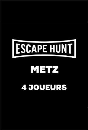 ESCAPE GAME METZ - 4 PERSONNES ESCAPE HUNT EXPERIENCE METZ activité, loisir