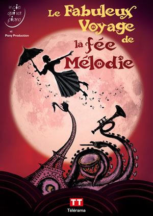 LE FABULEUX VOYAGE THEATRE COMEDIE ODEON pièce de théâtre pour enfant