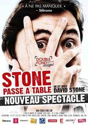 STONE PASSE À TABLE Le Double Fond revue, cabaret