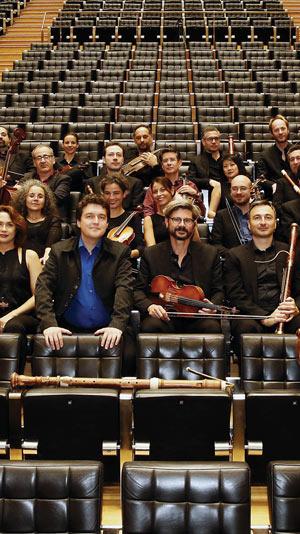 UN CONCERT A SANSSOUCI C.P.E. BACH, CITE DES CONGRES concert de baroque