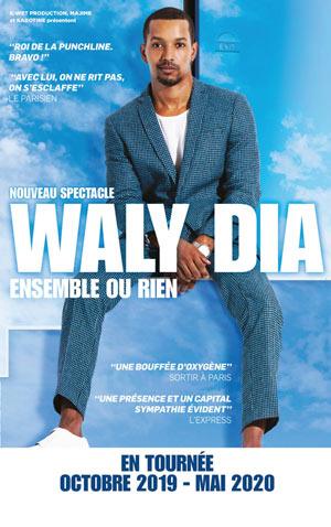 WALY DIA THEATRE LE RHONE one man/woman show
