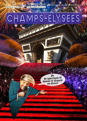 CHAMPS-ELYSEES Le Mail Scène Culturelle comédie musicale