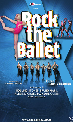 ROCK THE BALLET X   - L'Acclameur spectacle de danse contemporaine