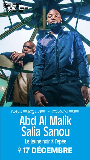 Plus d'infos sur l'évènement ABD AL MALIK / SALIA SANOU