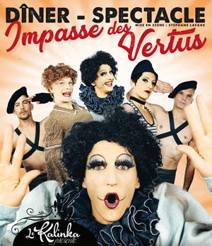 IMPASSE DES VERTUS Le Kalinka revue, cabaret