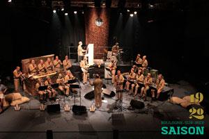 LACENH BIG BAND CARRE SAM concert de jazz