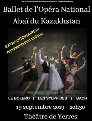 Plus d'infos sur l'évènement BALLET NATIONAL DU KAZAKHSTAN