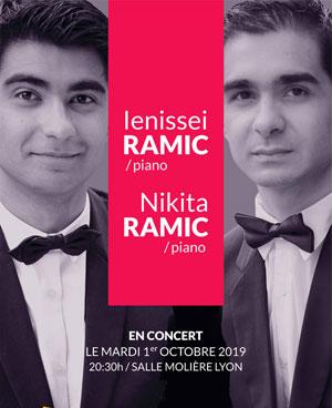 Plus d'infos sur l'évènement IENISSEI & NIKITA RAMIC, PIANO