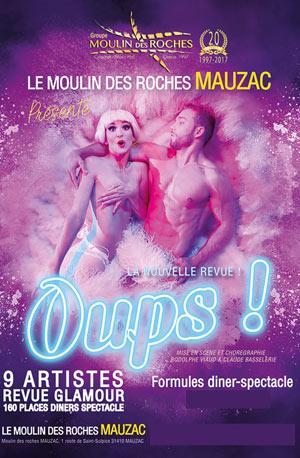 OUPS ! LE MOULIN DES ROCHES revue, cabaret