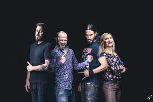 PRINCESSES LEYA - BOMB l'Arsenal concert de hard-rock métal