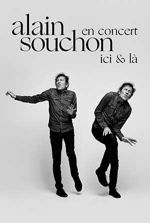 ALAIN SOUCHON PALAIS DES CONGRES concert de chanson française