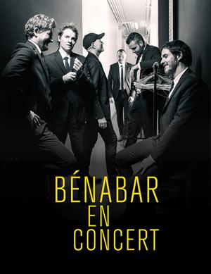 BENABAR ESPACE CHAMBON concert de chanson française