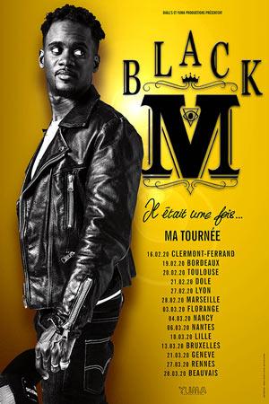 BLACK M RADIANT - BELLEVUE concert de rap hip-hop