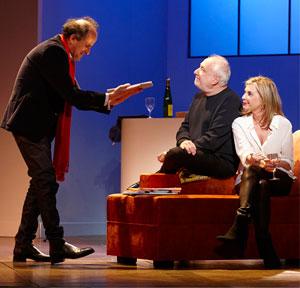 ENCORE UN INSTANT THEATRE JEAN ALARY pièce de théâtre contemporain