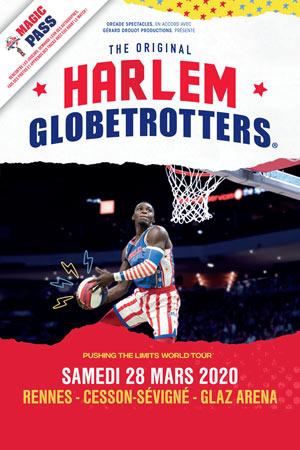 HARLEM GLOBETROTTERS GLAZ ARENA RENNES rencontre, compétition de basket