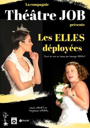LES ELLES DEPLOYEES THEATRE DES BEAUX ARTS comédie, pièce de théâtre d'humour