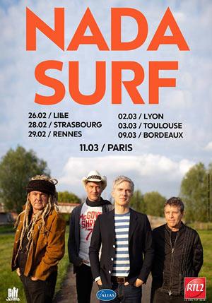 Plus d'infos sur l'évènement NADA SURF