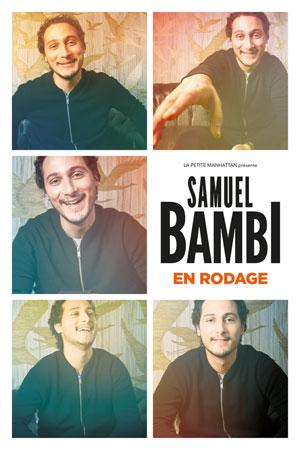 Plus d'infos sur l'évènement SAMUEL BAMBI