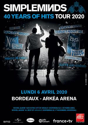 SIMPLE MINDS ARKEA ARENA concert de rock
